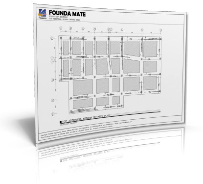 FOUNDA MATE Foundation Slab Detailing Software
